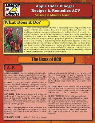 Apple Cider Vinegar: Recipes & Remedies Acv (Paperback)