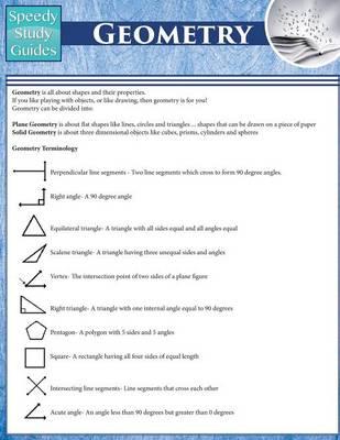 Geometry (Speedy Study Guides: Academic) (Paperback)