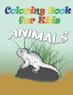 Coloring Book for Kids: Animals: Kids Coloring Book (Paperback)