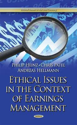 Ethical Issues in the Context of Earnings Management (Hardback)