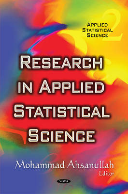 Research in Applied Statistical Science (Hardback)