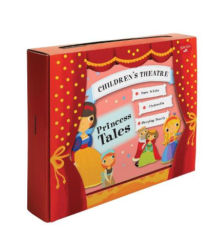 Princess Tales - Read & Play Puppet Theater (Board book)