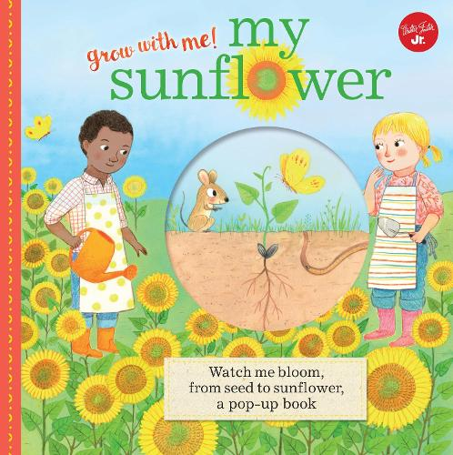 My Sunflower: Watch me bloom, from seed to sunflower, a pop-up book - Grow with Me! (Hardback)