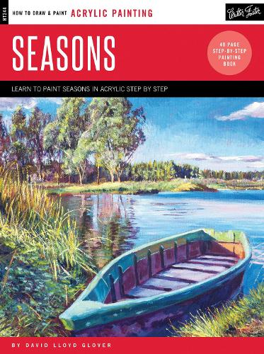 Acrylic: Seasons: Learn to paint step by step - How to Draw & Paint (Paperback)