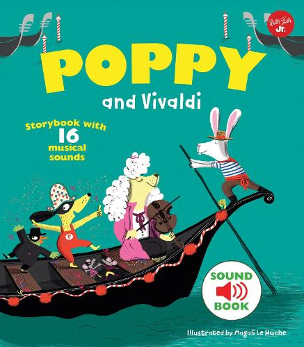 Poppy and Vivaldi: With 16 musical sounds! (Hardback)