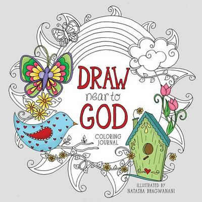 Draw Near to God: Coloring Journal - Coloring Journals (Hardback)