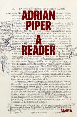 Adrian Piper: A Reader (Paperback)