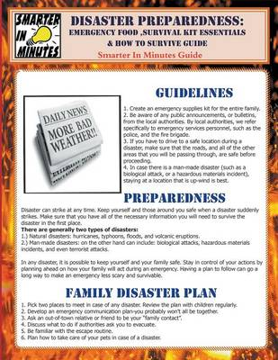 Disaster Preparedness: Emergency Food, Survival Kit Essentials & How to Survive Guide (Paperback)