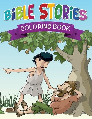 Bible Stories Coloring Book (Paperback)