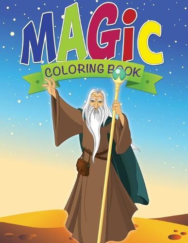 Magic Coloring Book (Paperback)