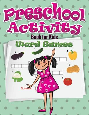 Preschool Activity Book for Kids (Word Games) (Paperback)
