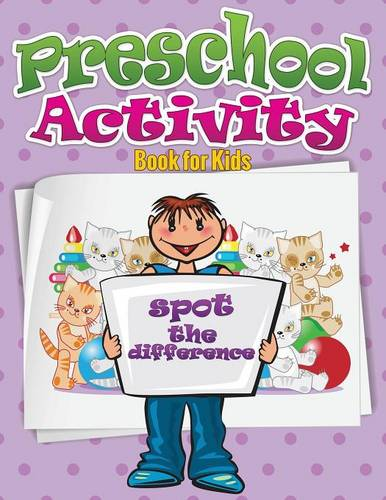 Preschool Activity Book for Kids (Spot the Difference) (Paperback)