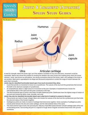 Joints & Ligaments (Advanced) (Speedy Study Guides) (Paperback)