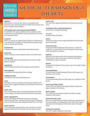 Medical Terminology: Heart (Speedy Study Guides) (Paperback)