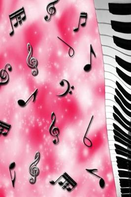 Diary - Journal - Pink Music Theme - Personal (Paperback)