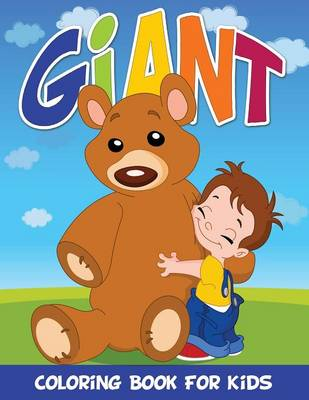 Giant Coloring Book for Kids (Paperback)