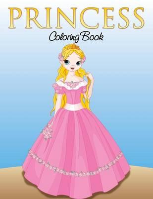 Princess Coloring Book for Girls (Paperback)