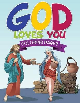 God Loves You Coloring Book (Paperback)
