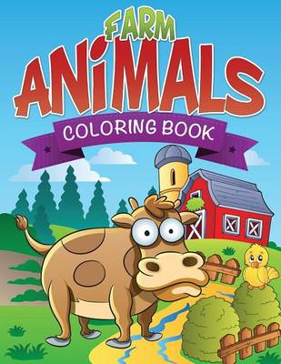 Farm Animals Coloring Book (Paperback)