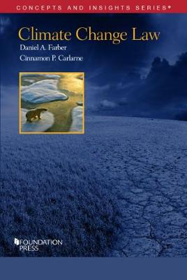 Climate Change Law - Concepts and Insights (Paperback)