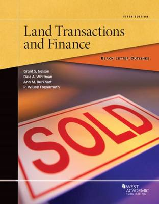 Black Letter Outline on Land Transactions and Finance - Black Letter Outline (Paperback)