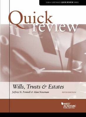 Quick Review of Wills, Trusts, and Estates - Quick Review Series (Paperback)