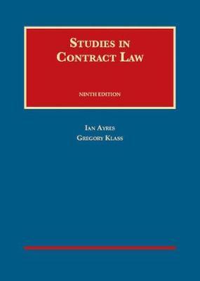 Studies in Contract Law - University Casebook Series (Hardback)
