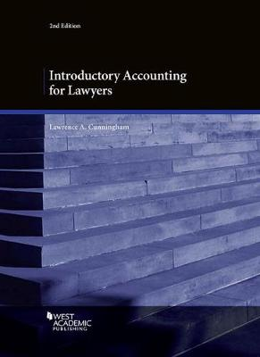 Introductory Accounting for Lawyers - American Casebook Series (Paperback)
