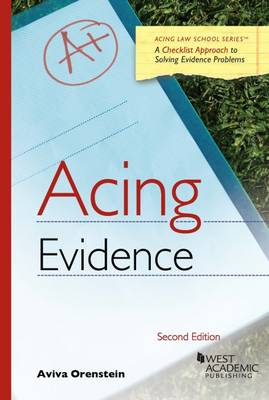 Acing Evidence - Acing Series (Paperback)