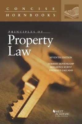 Principles of Property Law - Concise Hornbook Series (Paperback)