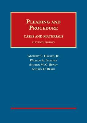 Cases and Materials on Pleading and Procedure - CasebookPlus - University Casebook Series (Multimedia)