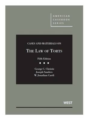 Cases and Materials on the Law of Torts - CasebookPlus - American Casebook Series (Multimedia)