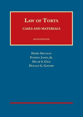 Cases and Materials on the Law of Torts - Casebook Plus - University Casebook Series (Multimedia)