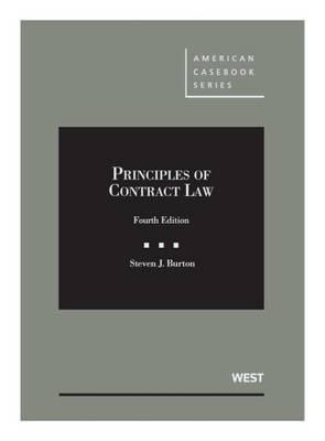 Principles of Contract Law - Casebook Plus - American Casebook Series (Multimedia)