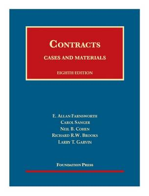 Cases and Materials on Contracts - Casebook Plus - University Casebook Series (Multimedia)
