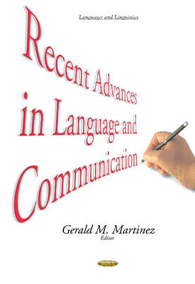 Recent Advances in Language & Communication (Hardback)