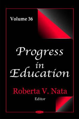 Progress in Education: Volume 36 (Hardback)