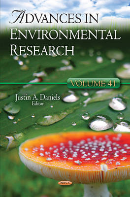 Advances in Environmental Research: Volume 41 (Hardback)