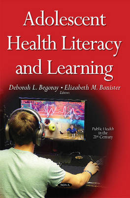 Adolescent Health Literacy & Learning (Hardback)