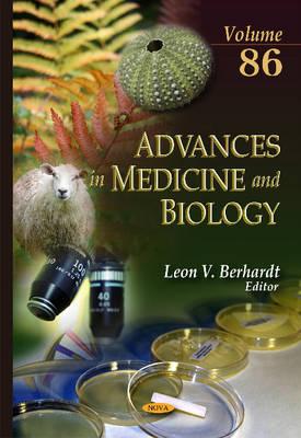 Advances in Medicine and Biology: Volume 86 (Hardback)