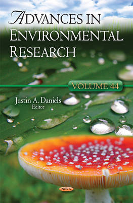 Advances in Environmental Research: Volume 44 (Hardback)