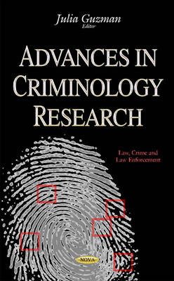 Advances in Criminology Research (Hardback)