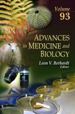 Advances in Medicine & Biology: Volume 93 (Hardback)