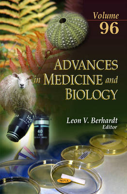 Advances in Medicine & Biology: Volume 96 (Hardback)