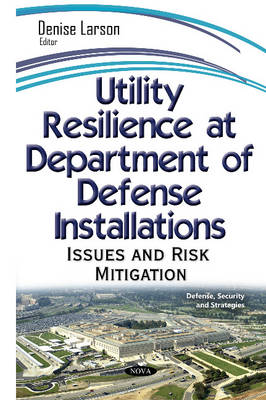 Utility Resilience at Department on Defense Installations: Issues & Risk Mitigation (Hardback)