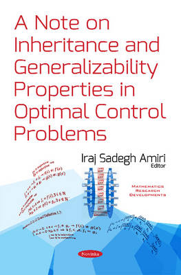 Note on Inheritance & Generalizability: Properties in Optimal Control Problems (Paperback)