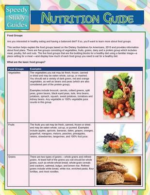 Nutrition Guide (Speedy Study Guide) (Paperback)