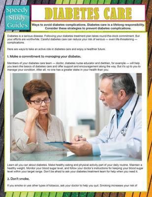 Diabetes Care (Speedy Study Guide) (Paperback)