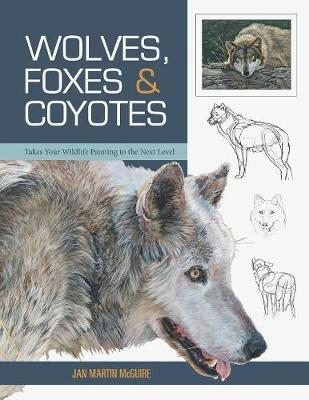 Wolves, Foxes & Coyotes (Wildlife Painting Basics) (Paperback)