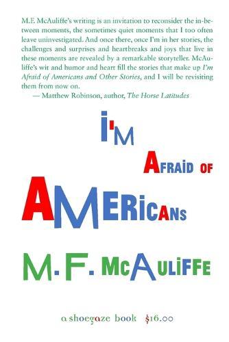I'm Afraid of Americans (Paperback)